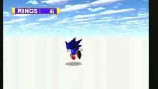 Sega Saturn - Sonic Jam: Sonic World bounds glitch