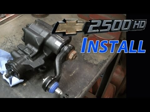 04 Duramax Steering Box, Idler Arm, Pitman Arm and Tie Rod ...