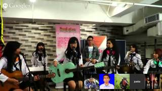 Hangout on air with juwita band