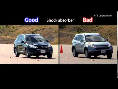 Differences Between KYB NEW SR And Bad Suspension