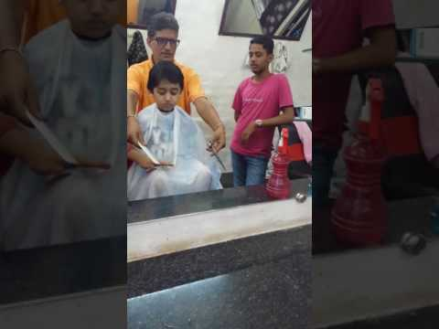 Hair cutting aug 09 2017 ptk india