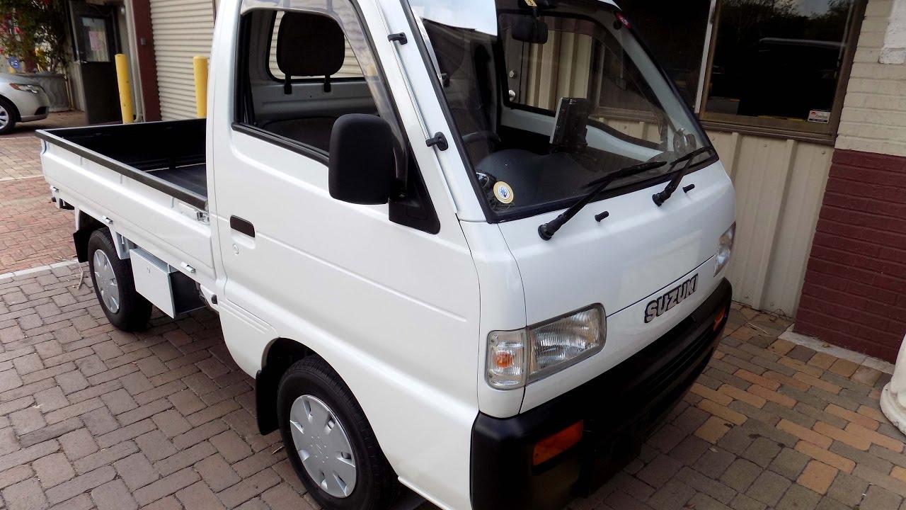 1992 Suzuki Carry 32k Rwd Kei Mini Pickup Truck Youtube