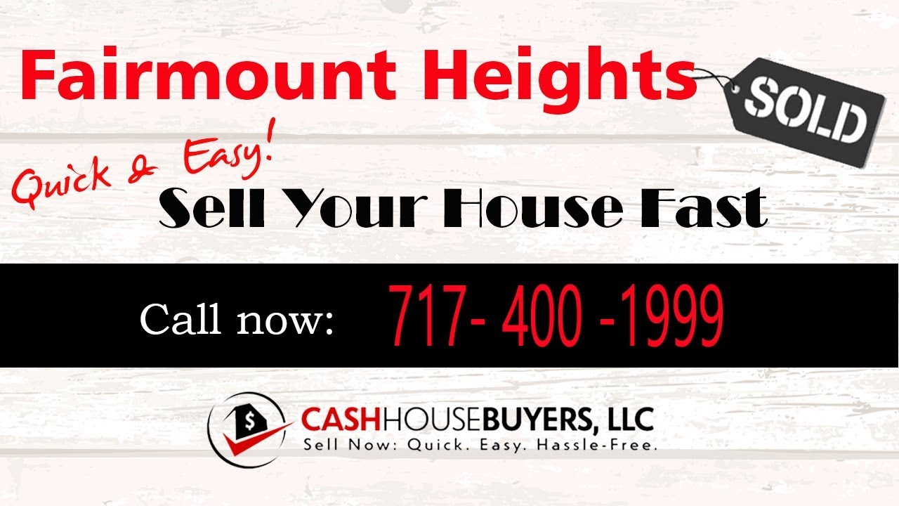 HOW IT WORKS We Buy Houses Fairmount Heights MD | CALL 7174001999 | Sell Your House Fast Fairmount