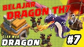 BELAJAR NAGA TH 7 - DRAGON di WAR episode 7 - Clash of Clans INDONESIA
