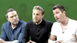 MensXP | Triple Frontier Interview Ft. Ben Affleck, Charlie Hunnam & Garrett Hedlund