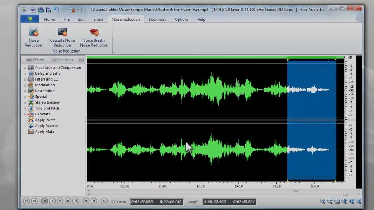 How to Remove Background Noise from Audio with Free Audio Editor