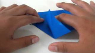 How To Make Origami 'bluejay'