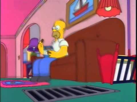 Гомер и пиво (симпсоны 1 апреля) - YouTube