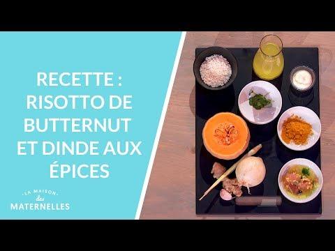 recette-:-risotto-de-butternut-et-dinde-aux-épices---la-maison-des-maternelles-#lmdm