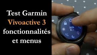 Test Garmin Vivoactive 3