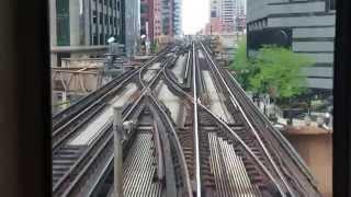シカゴのダウンタウンは、プラレールの世界が拡がっている。このポイン...