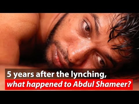Video: Five years after attack, justice eludes Abdul Shameer, victim of cow vigilantism