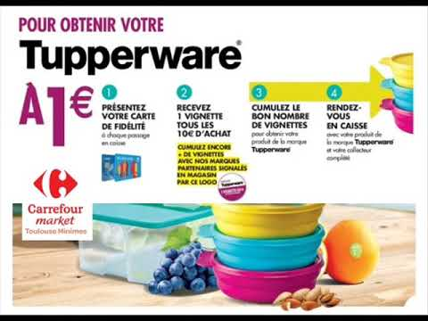 Carte Carrefour Tupperware.Tupperware A Carrefour Market Toulouse Minimes