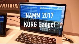 NAMM 2017: KORG Gadget for Mac