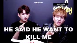 """GOT7 MAGNAE VS HYUNG """"Who will win?"""""""
