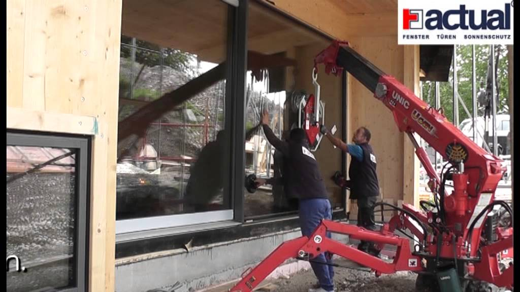 Montage von actual loft elementen youtube for Actual fenster