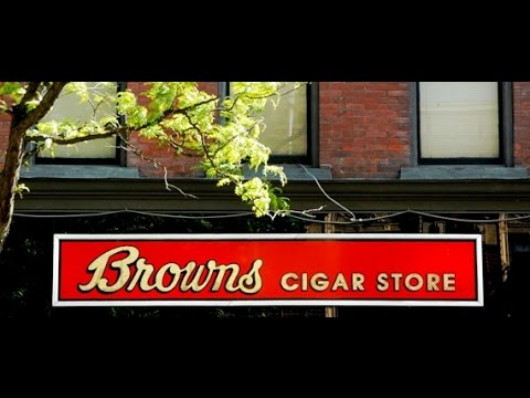 Brown's Cigar Store Interview