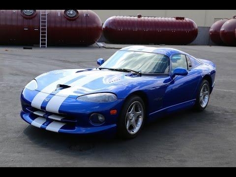 1996 Viper GTS Drive Around