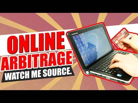 Watch Me Source Online Arbitrage LIVE For Amazon FBA