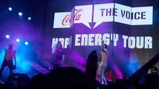 Coca cola the voice happy energy tour