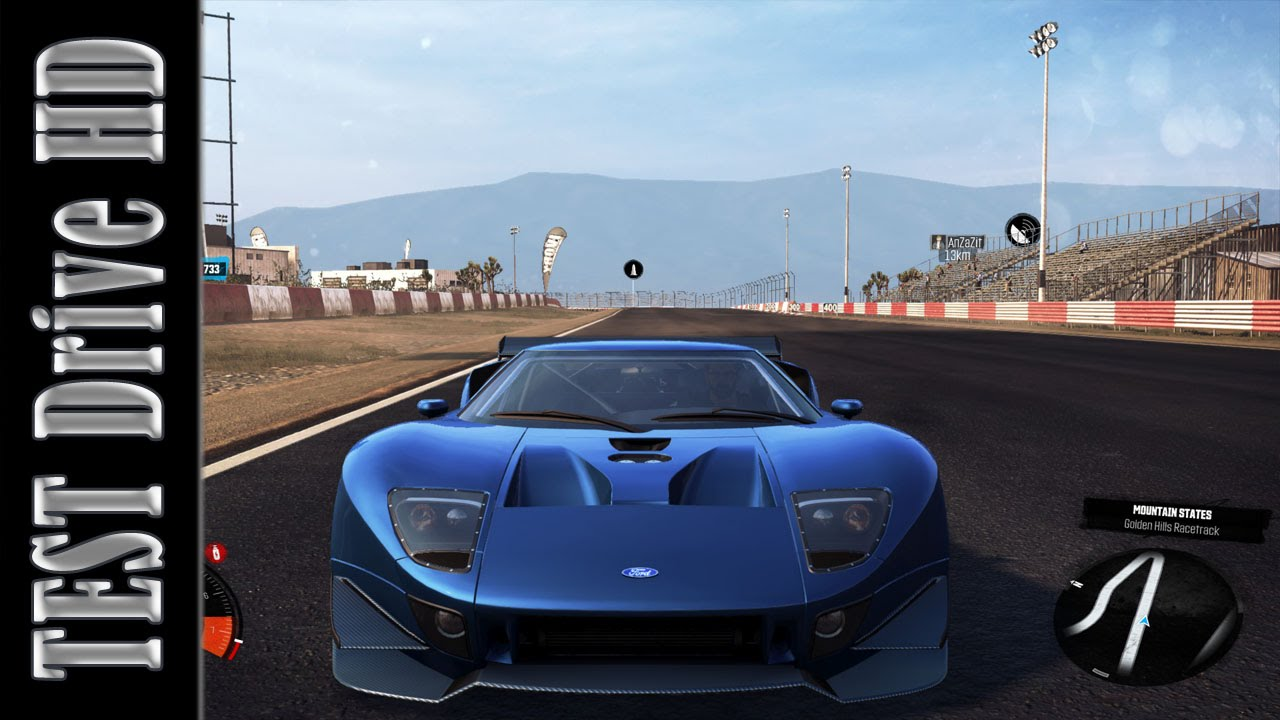 Ford Gt Circuit Spec  The Crew Test Drive Gameplay Pc Hd  Youtube