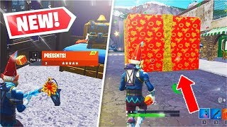 *NEW* Legendary PRESENTS Gameplay + FREE Christmas Gift #5! (Fortnite)