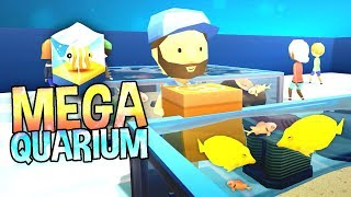 MY OWN AQUARIUM! Fun Fish Tycoon Game - MegaQuarium Gameplay