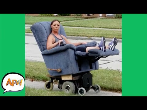She's the QUEEN of FAILS! 🤣👑 | Funny Videos | AFV 2019