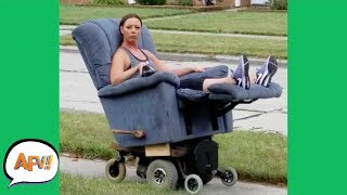 Download She's the QUEEN of FAILS! 🤣👑 | Funny Videos | AFV 2019 MP3 and video free