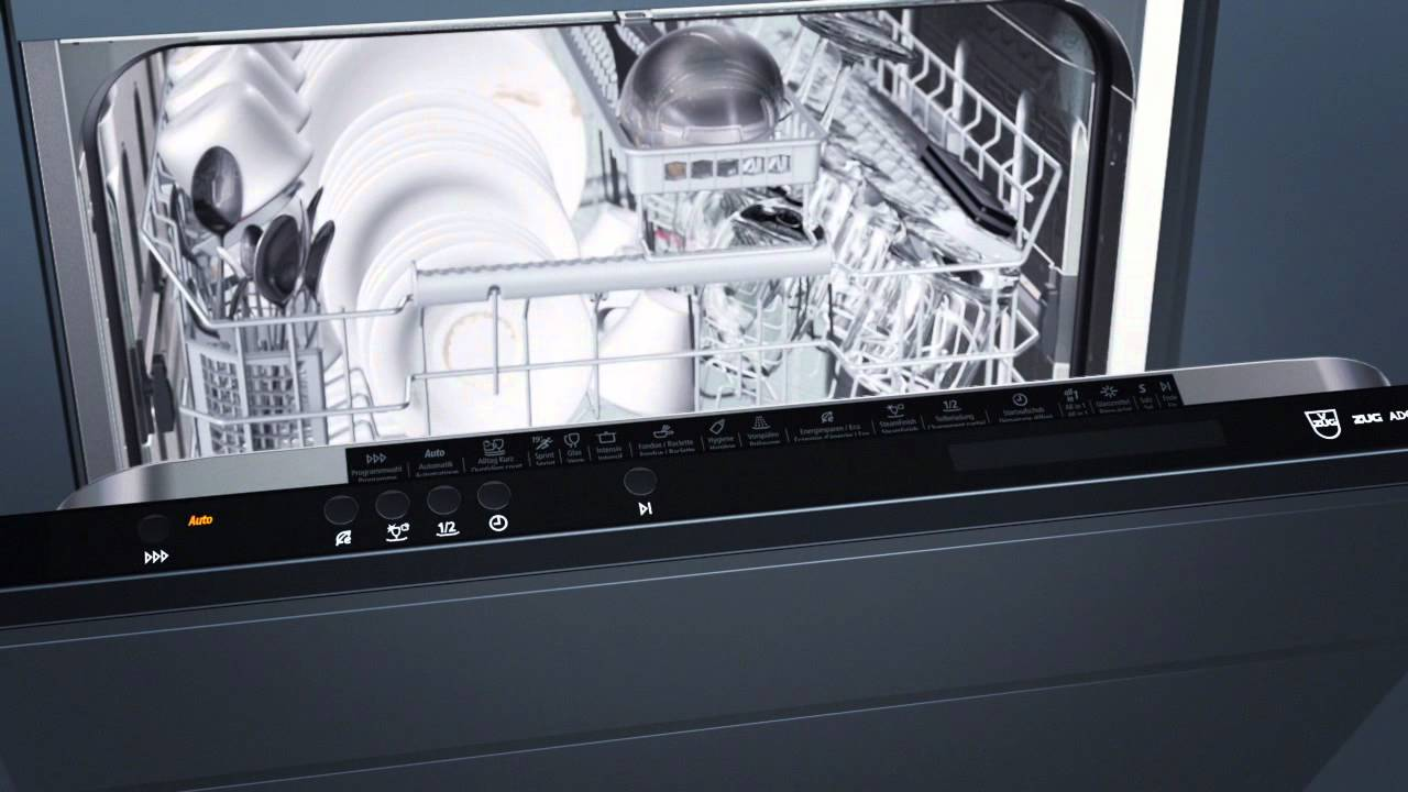 new adora dishwasher with world exclusive steamfinish swiss german youtube. Black Bedroom Furniture Sets. Home Design Ideas