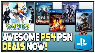 10 AWESOME PSN GAME DEALS AVAILABLE RIGHT NOW - GREAT PS4 GAME DEALS!