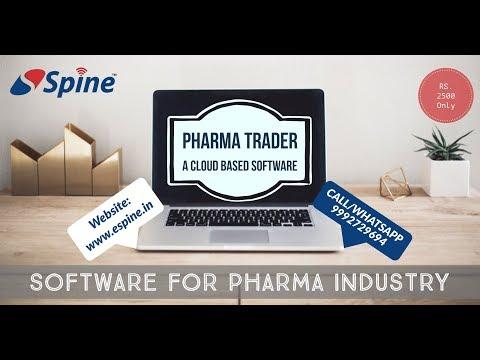 Pharma Trader Software | Medical Billing Software | GST Software
