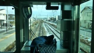 【前面展望】E129系・吉田~内野~新潟【越後線】