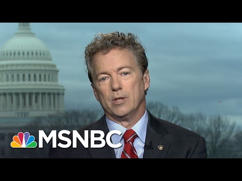 Rand Paul On Why Democrats Changed Tune On Neil Gorsuch | Morning Joe | MSNBC