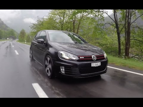VW Golf 6 GTI | Driving, Acceleration and Sound