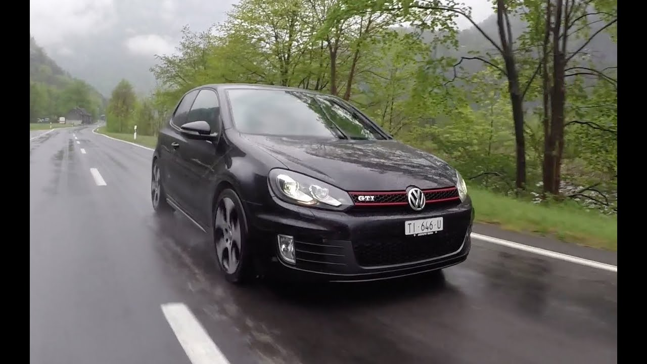 vw golf 6 gti driving acceleration and sound youtube. Black Bedroom Furniture Sets. Home Design Ideas