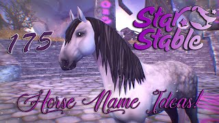 【SSO】- Horse Name Ideas!