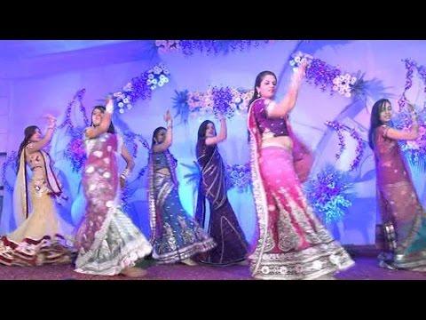 girl dance | Mehandi Rachi Mhara Haathan Mein | gorband dance | rajasthani dance | jjt university
