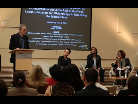 Health, Wages and Opportunity in California - Event Highlights