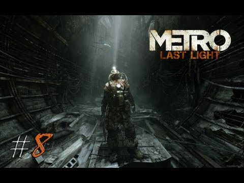 Смотреть прохождение игры Metro: Last Light. Серия 8 - Регина.