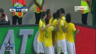 Brezilya  3 İspanya 0 Konfederasyon Kupası Finali Özeti