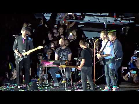 Coldplay - Don't Panic + Us Against The World + Free Fallin' + Something Just Like This - Rose Bowl