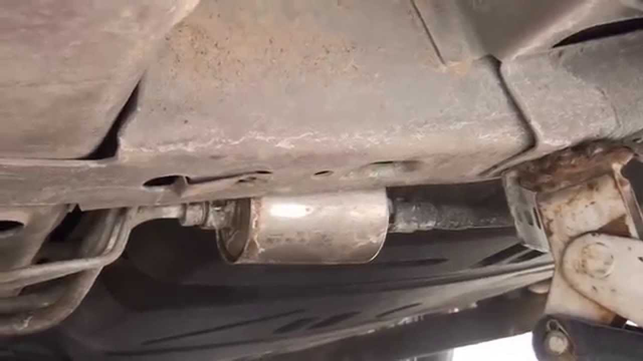 how to replace a fuel filter on a grand prix gtp [ 1280 x 720 Pixel ]