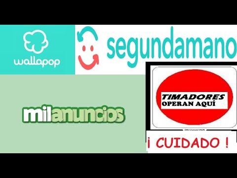 MILANUNCIOS,WALLAPOP TIMADORES CIRCULANDO (NOV 2020)