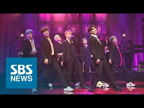 '팝 본고장' 홀린 K 팝!…BTS 이어 K팝 스타에 러브콜 / SBS