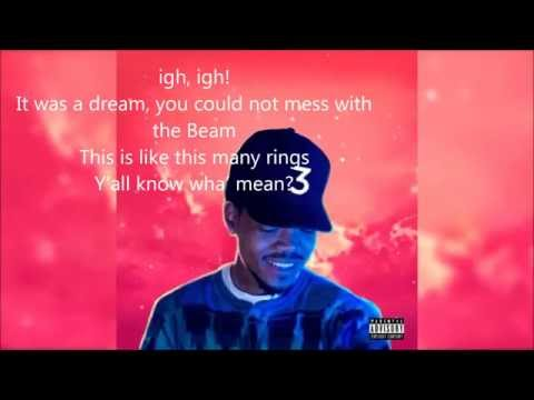 chance the raper (all we got ) music lyrics video
