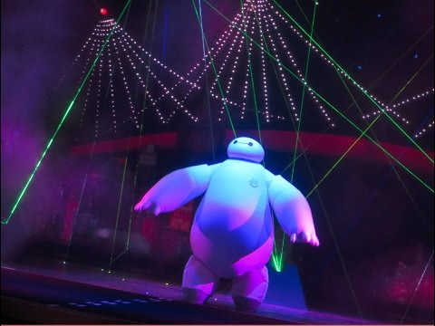 Big Hero 6 Laser Pre show with Baymax at the El Capitan Theatre