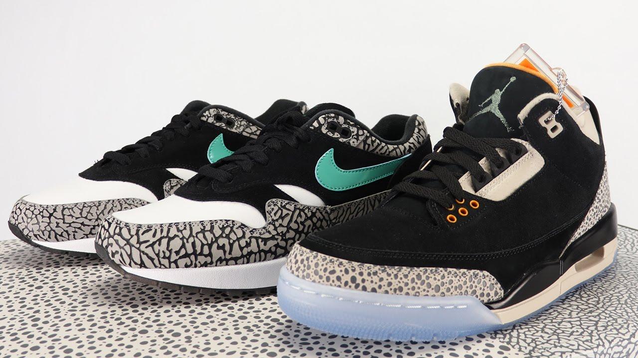 bb95f1eb6d1 Air Jordan 3 Nike Air Max 1 ATMOS Pack + Comparison (Help Name This ...