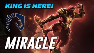 Miracle KING IS HERE! | Dota 2 Pro Gameplay