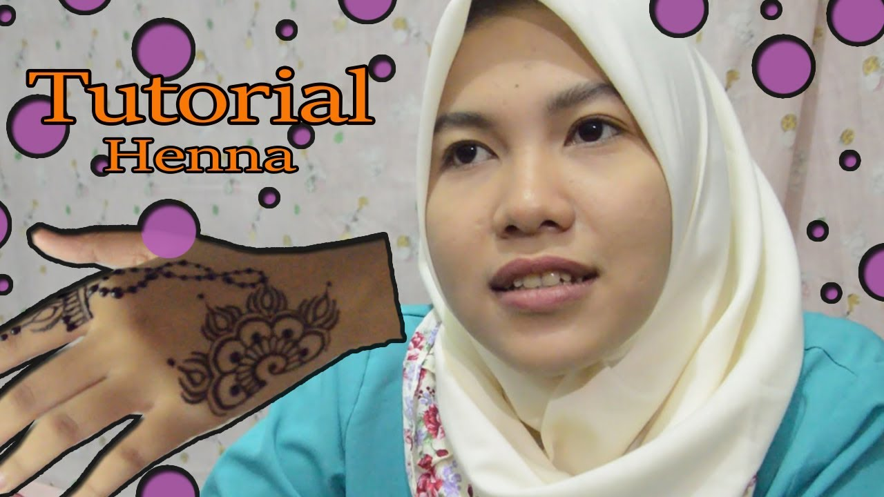 Tutorial Henna Tangan Simple Pemula Youtube